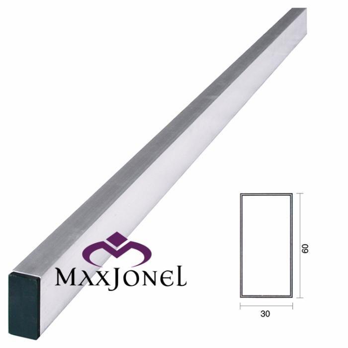 Dreptar aluminiu rectangular 60x30x1.2mm