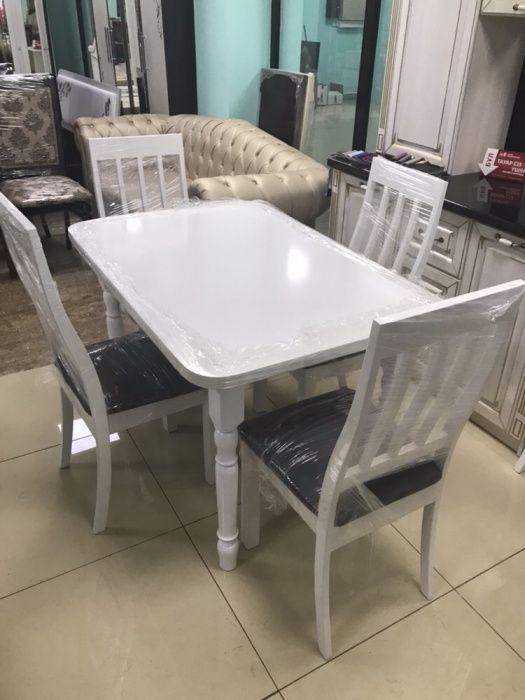 АКЦИЯ Стол и стулья 50000тг