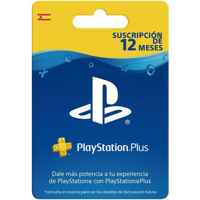 Play Station Plus Card ps4