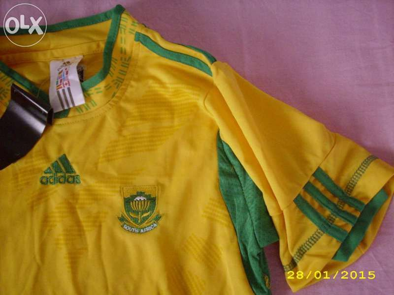 Оригинална тениска на Южноафриканския футболен отбор