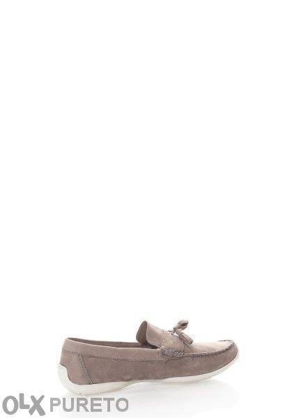 Gloseppo Страхотни мъжки мокасини обувки кожа+набук ново в кутия 43 но