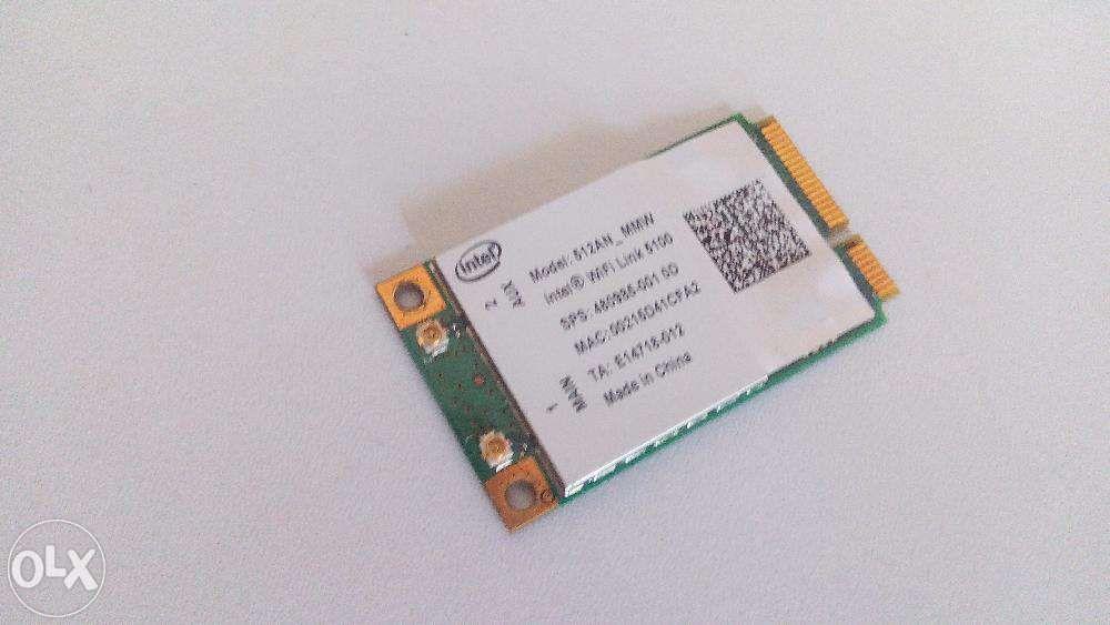 Modul Wifi Intel Wireless Link 5100 Laptop