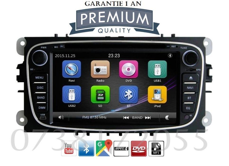 Navigatie GPS Ford Focus Mondeo C max S max Galaxy TRANSIT DVD MP3 USB