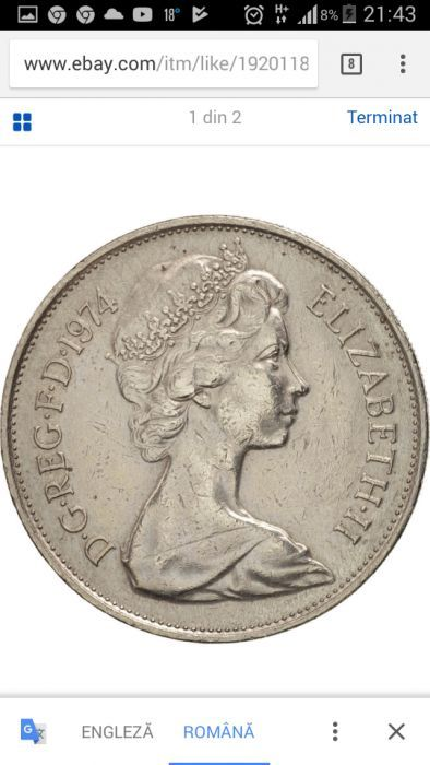New pence 10 /1974