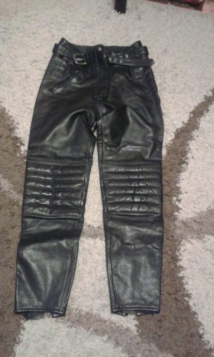Pantaloni piele motor mărimea S