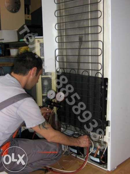 Ремонт на хладилници и фризери по домовете ( хладилен сервиз) София
