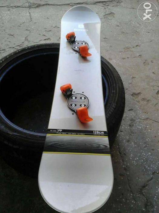 Placa Snowboard Bond