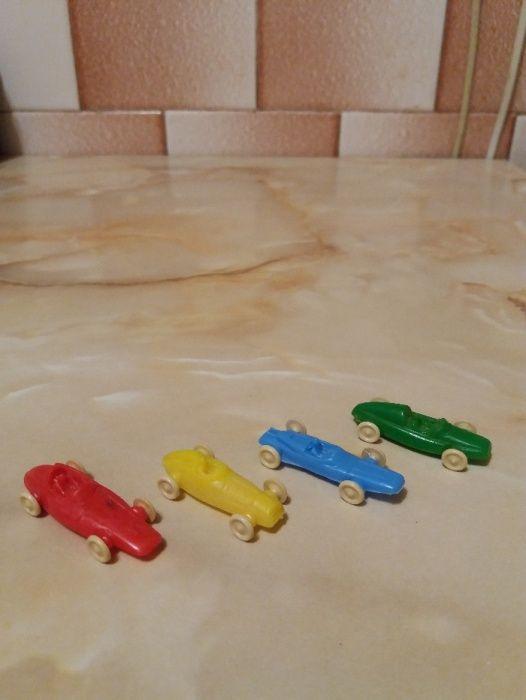 Jucarii vechi, set 4 masinute, miniaturi