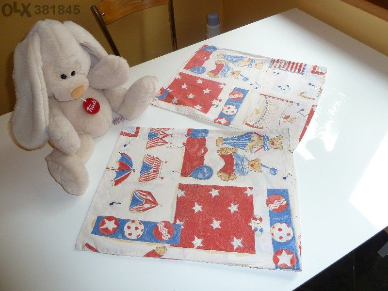 Детски спален комплект с олекотена завивка и 2бр.калъфки