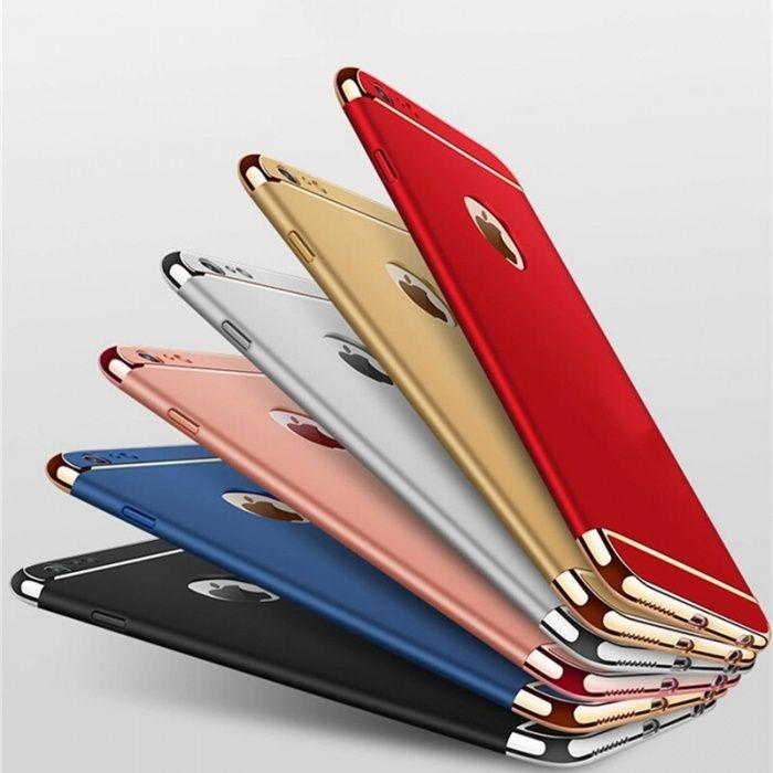 Husa / Bumper Luxury 3 in 1 Iphone 6 / 6s / 7 / 7Plus / 8 / 8 Plus