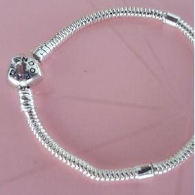 Pandoras de prata novas originais