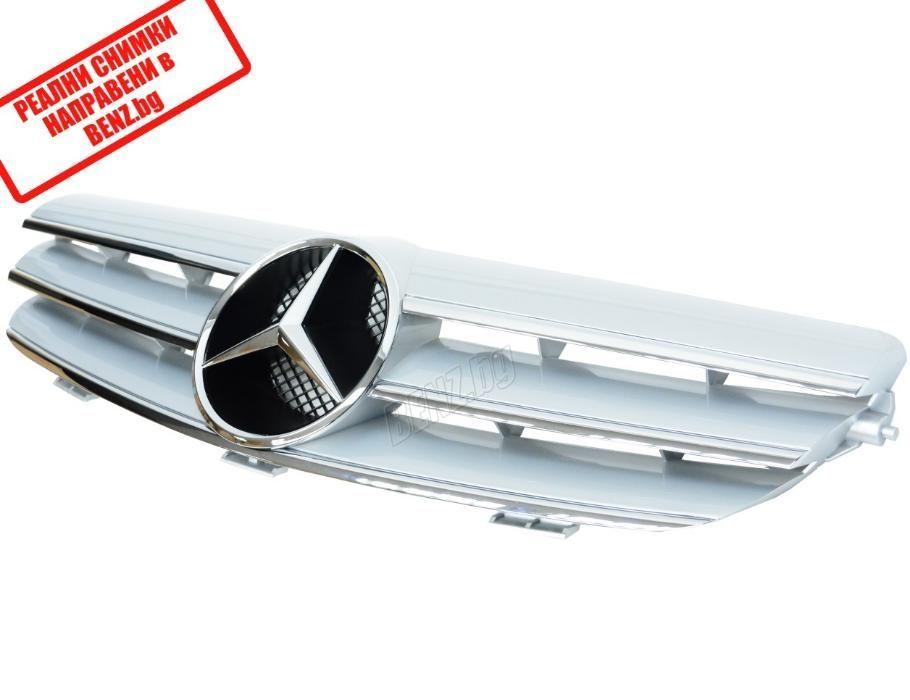 Amg Style решетка за Mercedes Clk W209 Амг reshetka za Мерцедес Цлк В2