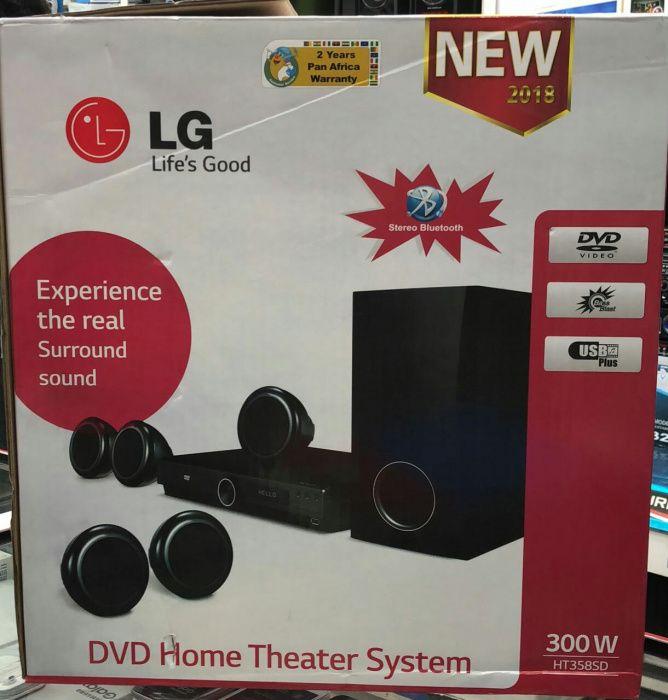 Homo theater System Lg 300W selados