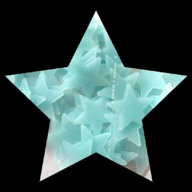 50 Estrelas Fluorescentes (brilham no escuro) - decorativas Malhangalene - imagem 5