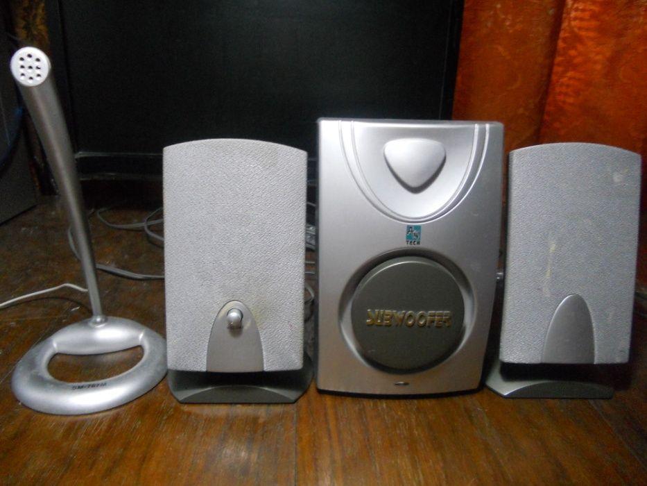 Sistem audio A4Tech 2.1 pentru conectare la PC