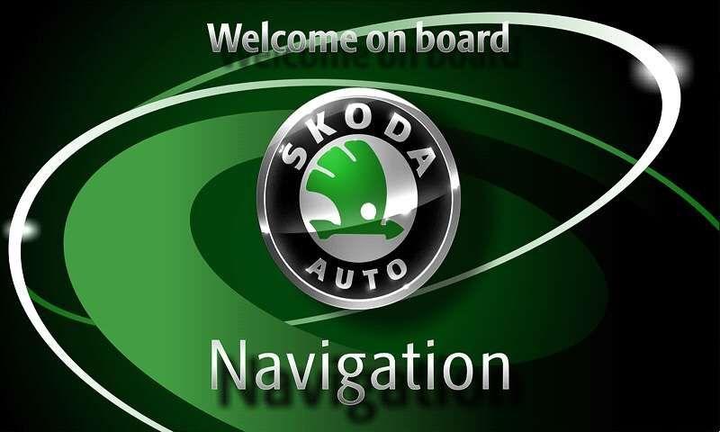 Repar Navigație RNS 510 originala VW blocată in WELCOME TO VOLKSWAGEN