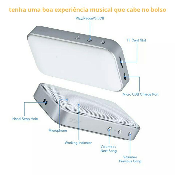 Caixa de Som AEC (Bluetooth 209) mini speaker