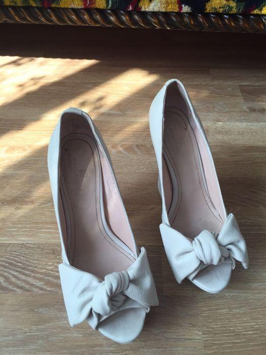 Pantofi nude, piele naturala- marime 36