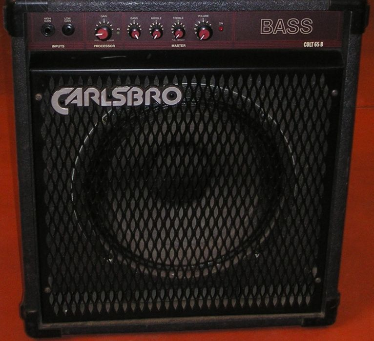"Продавам бас кубе ""Carlsbro"" - Made in England"