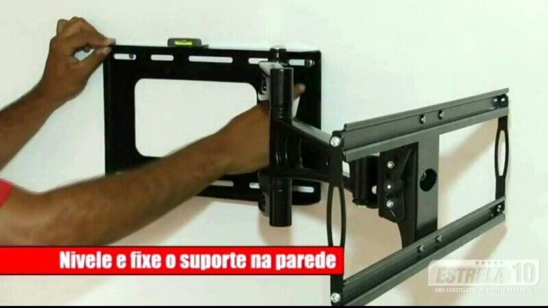 Suportes Hidráulicos para pendurar TV na parede