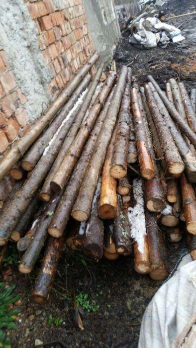 Vand bile de lemn pentru stalpi si grinzi