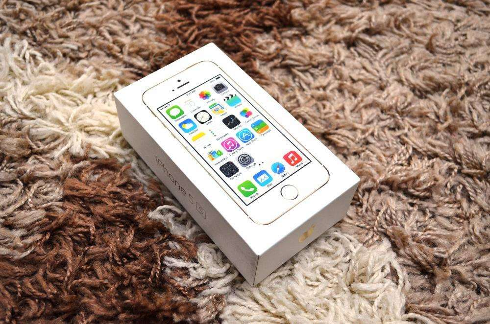 Cutie IPHONE 5S Gold 16 GB + Factura Cumparare