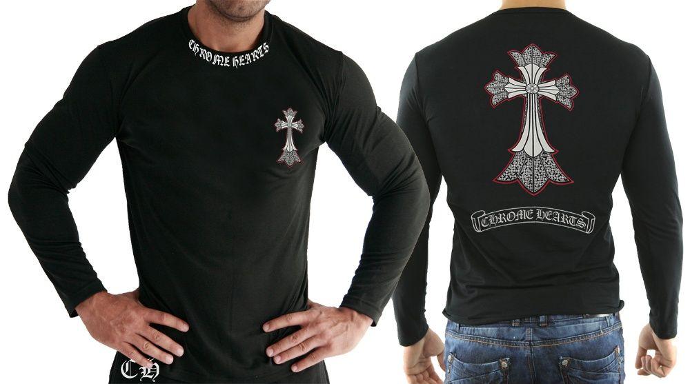 Мъжки тениски CHROME HEARТS PACIOTTI 4 МОДЕЛА. ИЛИ поръчай с твоя идея