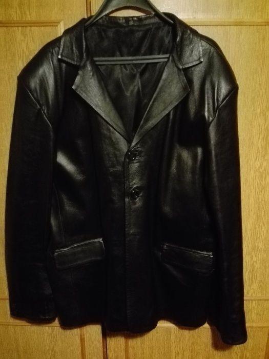 Кожено сако от агнешка кожа без забележка XXL