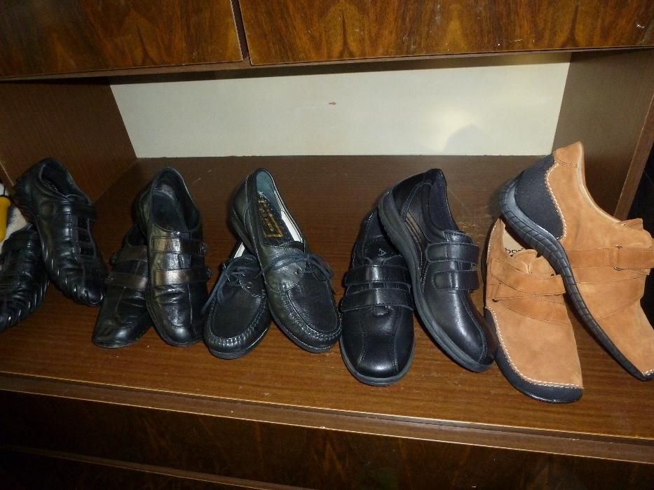 дамски кожени маркови обувки