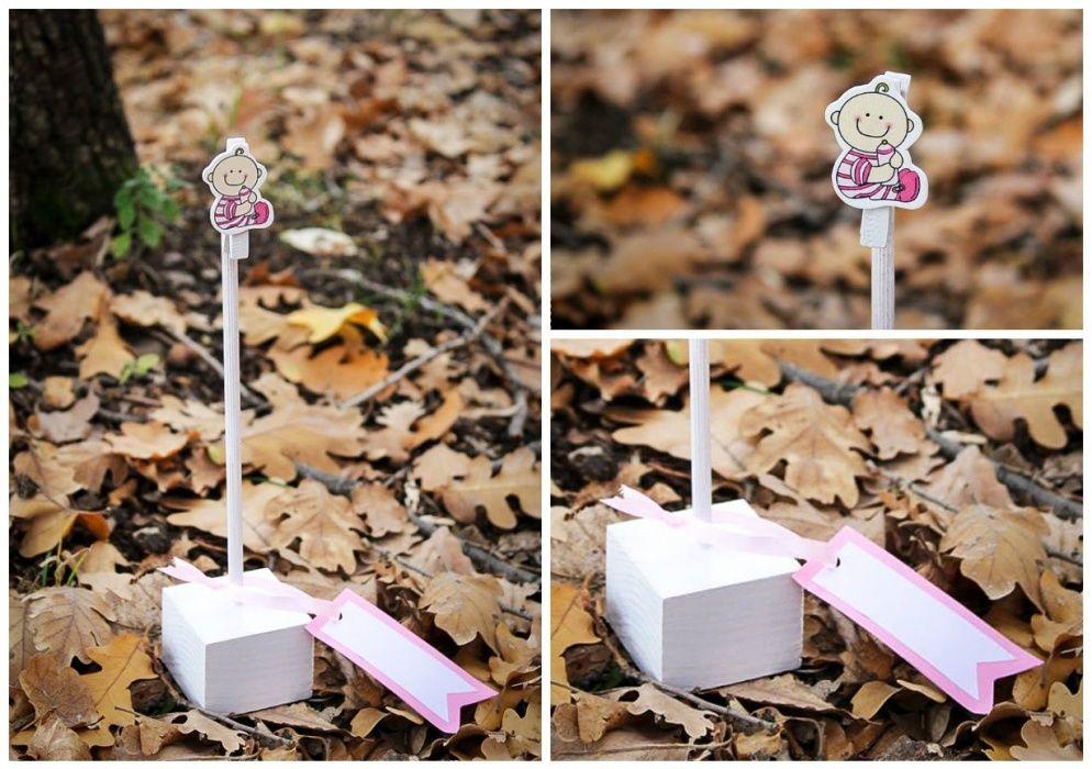 Ръчно изработена дървена стойка за снимка/поставка за тейбъл картичка гр. Асеновград - image 5