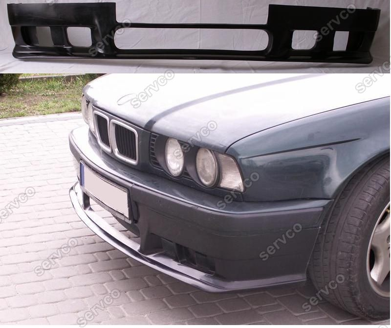 Prelungire spoiler buza bara fata BMW E34 pachet M tech Aerodynamic v1