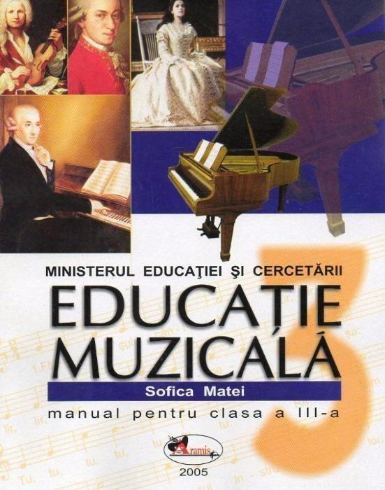 manual educatie muzicala clasa a 3-a