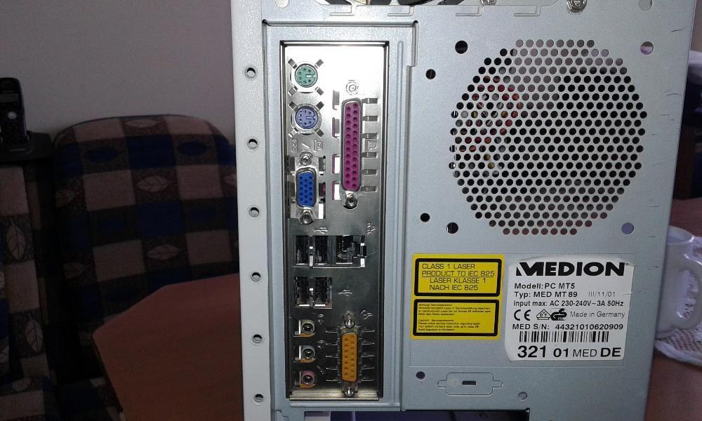 Домашен компютър 80GB HDD с Монитор