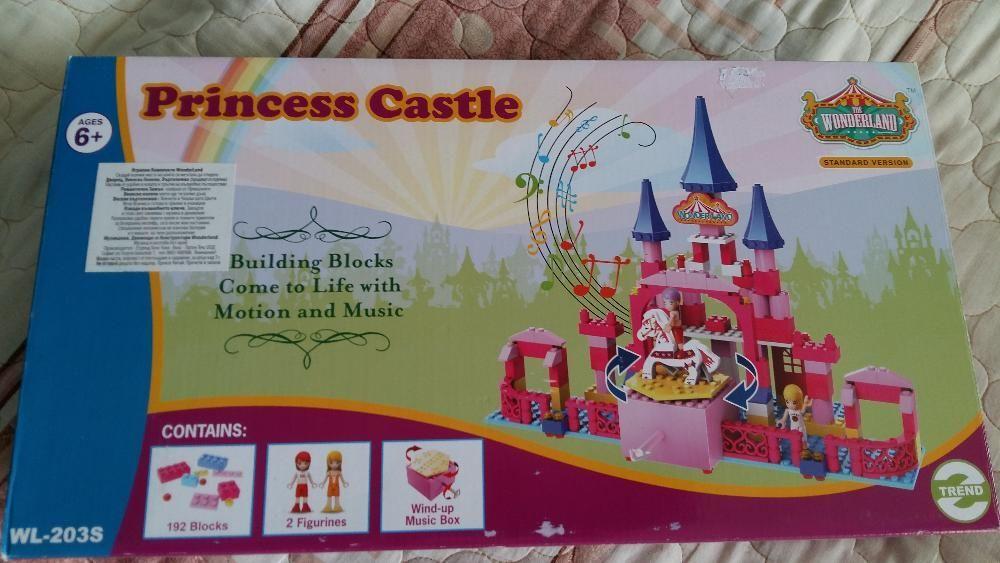Конструктор замък на принцеса