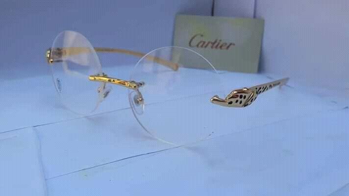 Armações Feminino originais de marcas Cartier e Versace