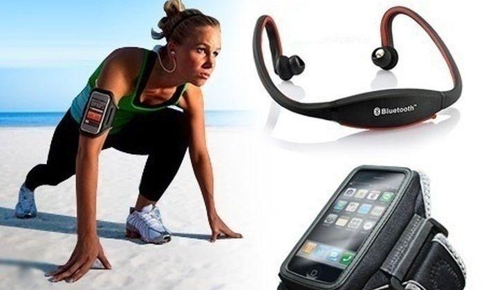Auricular Bluetooth Desportivo Novo e Selado