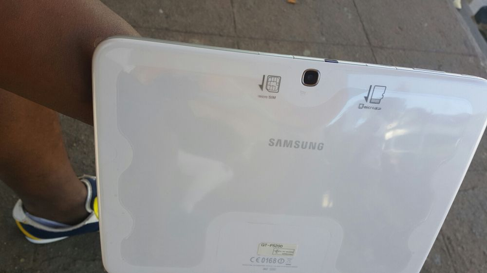 Galaxy tablet 3 super novo ha bom preço