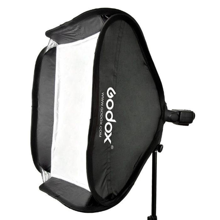 Softbox portabil Godox cu bracket s-type Bowens pt flash 40cm 60cm 80c