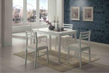 "Кухонный комплект Стол+4 стула ""Пилар"" Венге, Белый. АКЦИЯ!!!"