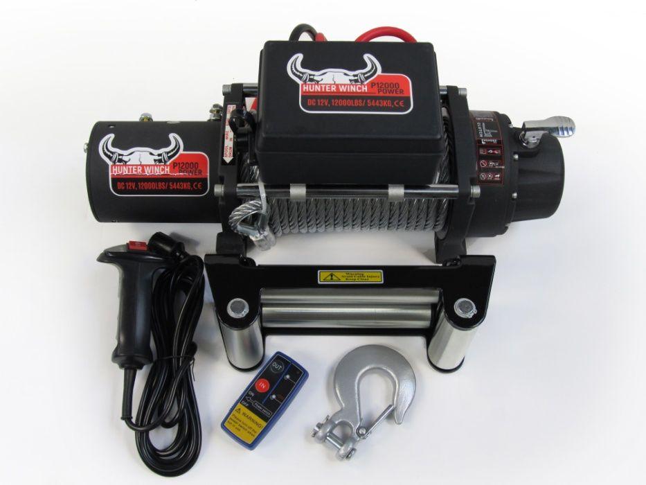 Лебедка Hunter Winch P12000 POWER 12V 12000lbs гр. Бургас - image 1