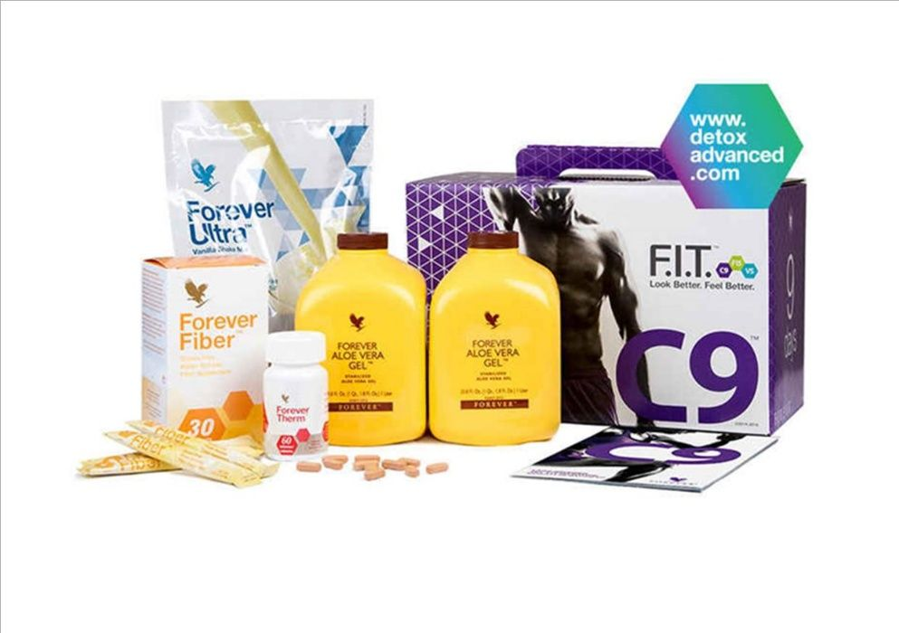Clean9 da Forever - programa eficaz de perda de peso e desintoxicação