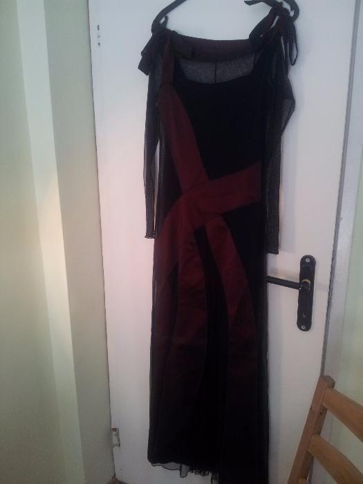 Бална рокля + обувки и чанта подарък