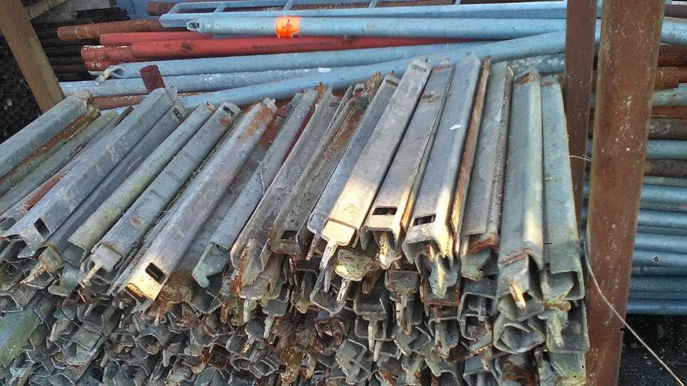 Montant zincat , schela metalica