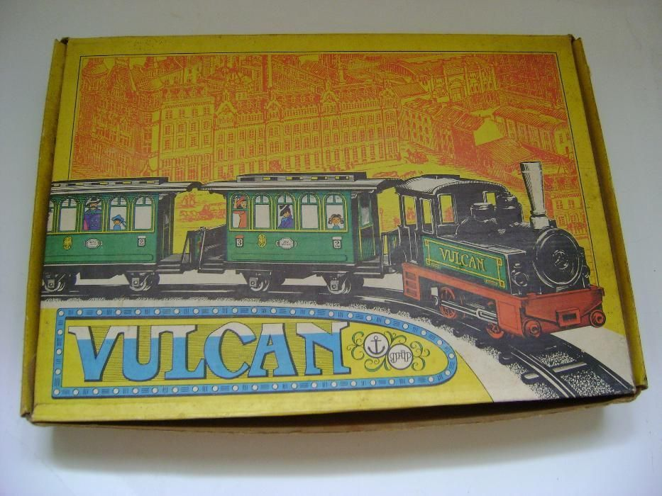 Tren cu şină, vintage, Vulcan Ankerbahn 2127
