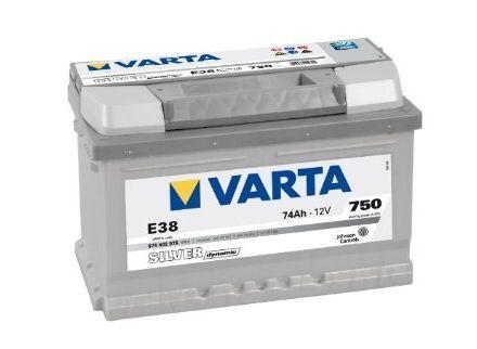Baterie auto Varta, Silver Dynamic, 74Ah, 750A,