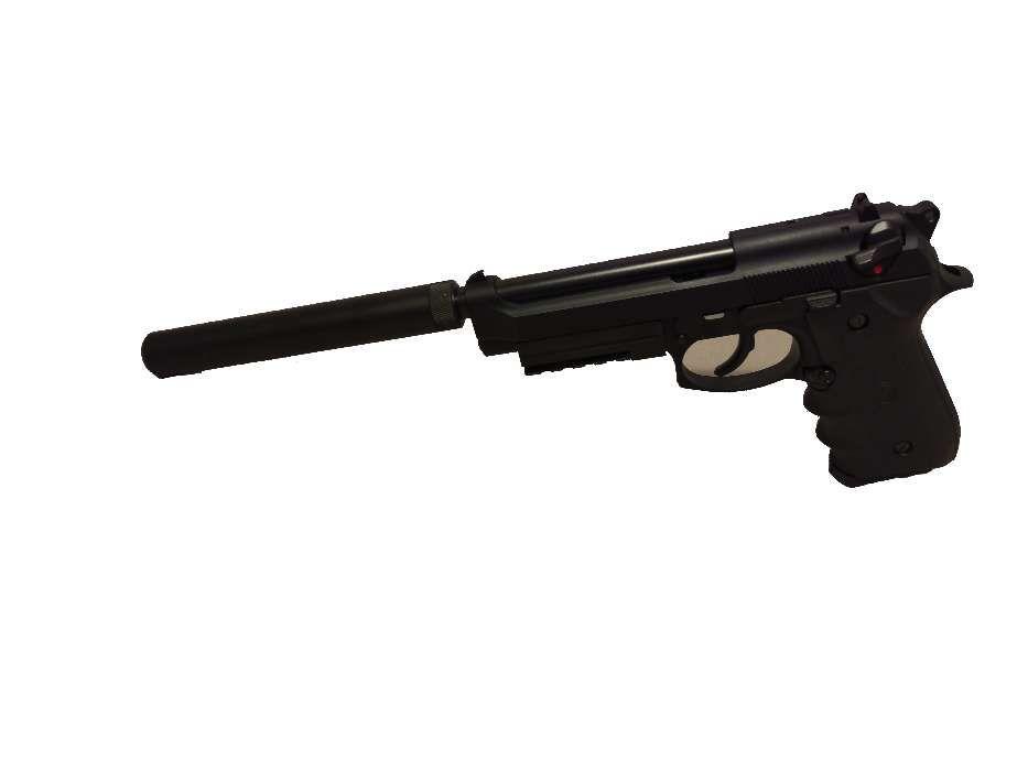 Pistol Airsoft Replica Beretta KJW M9+amortizor