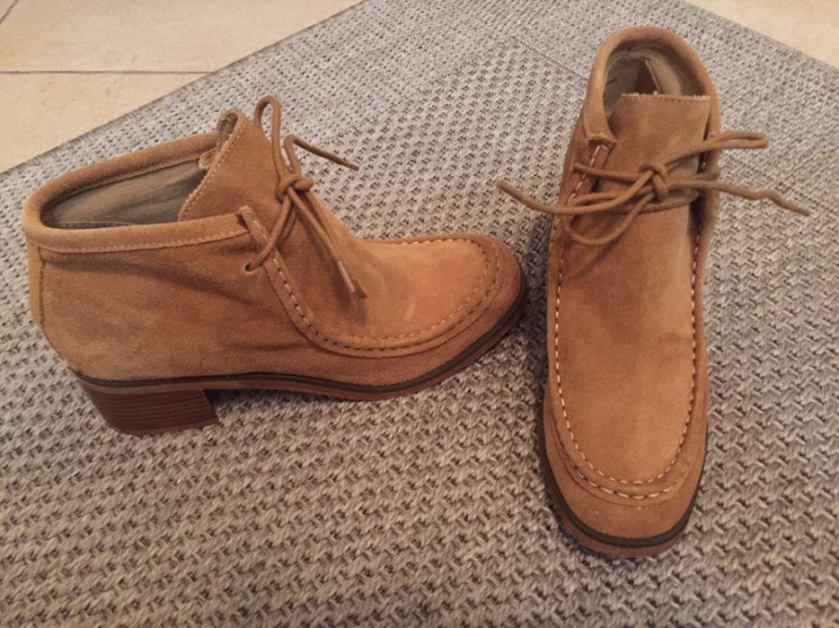 Ботинки жен.замшевые