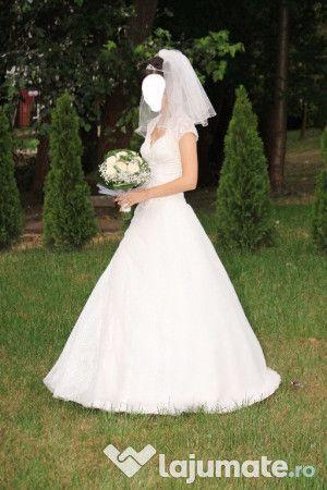 Rochie de mireasa marimea S (36)