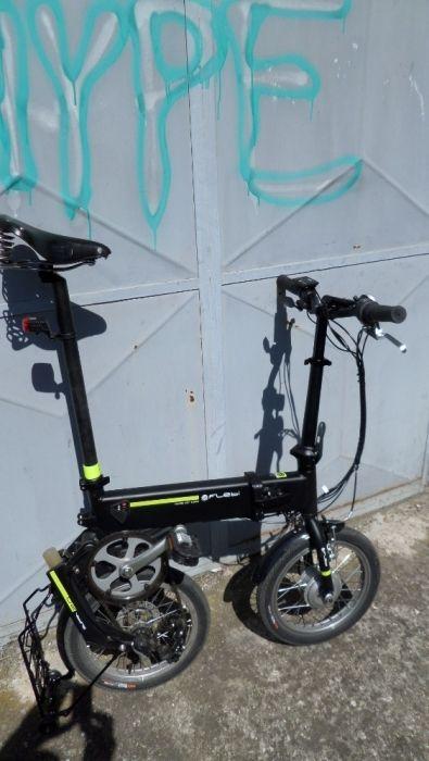 Bicicleta FLEBI pliabila-electrica tip BROMPTON