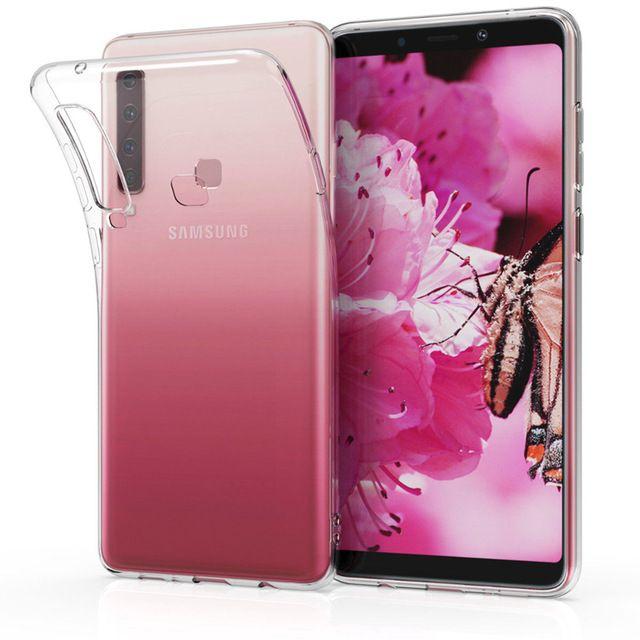 Samsung A7 A9 2018 Pachet Husa Silicon Transparenta + Folie Full Size